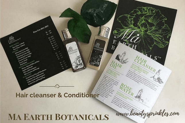 Ma Earth Botanicals Hair Cleanser And Conditioner